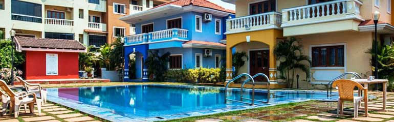 Villas in Goa, 3 BHK Budget Arpora