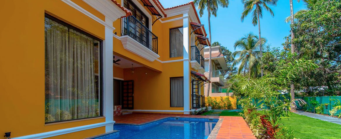 Villas in Goa, 4 Bedroom Luxury Villa In Baga Goa