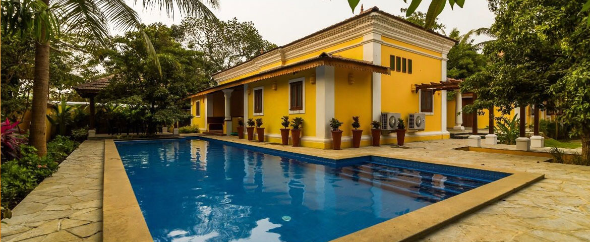 Villas in Goa, 4 Bedroom Luxury Villa In Vagator Goa