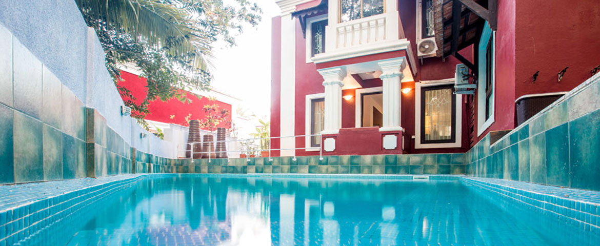 Villas in Goa, 4 Bedroom Luxury Villa In Candolim Goa